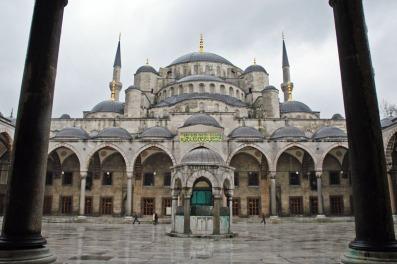 Masjid Biru diHati