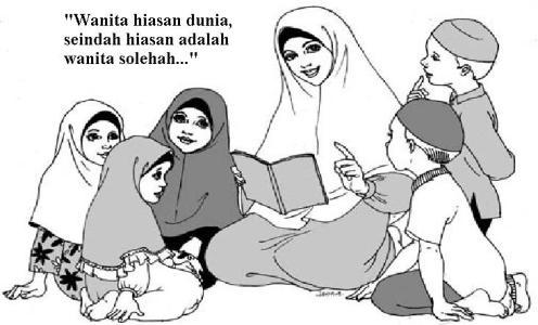 Wanita Solehah Hiasan Dunia