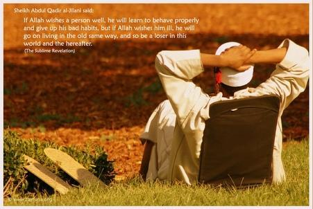 as Shaykh Abd Qadir al-Jilani hadsaid..