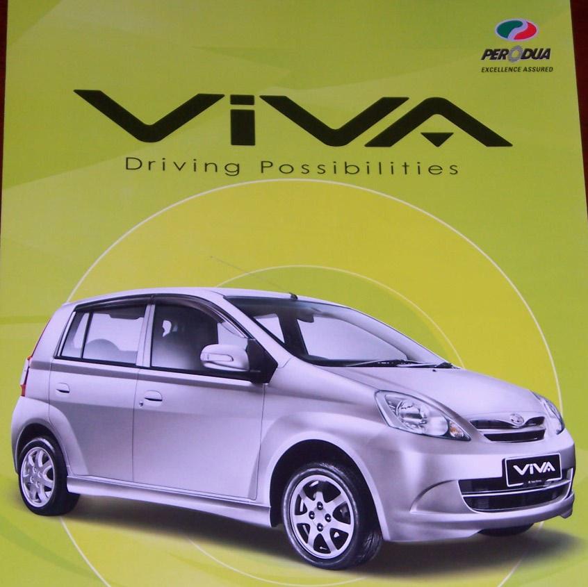 Harga Kereta Perodua Viva 2011