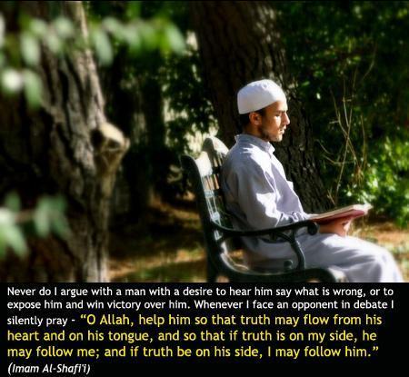 As Imam As-Shafi'e hadsaid…