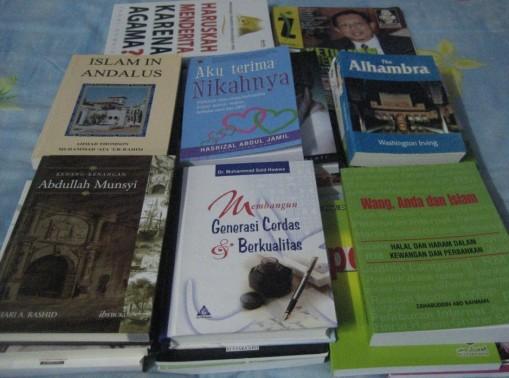 Buku-buku KL 5-9 Jun 2008