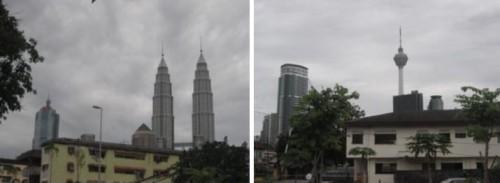 Kuala Lumpur from Masjid Kpg Baru