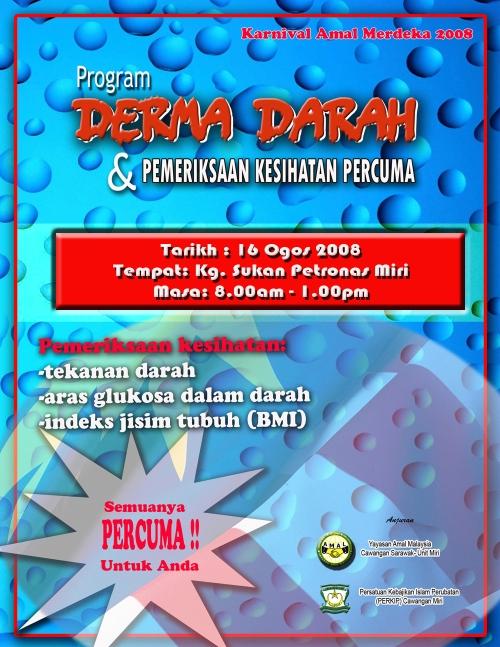 Program Derma Darah Amal 2008