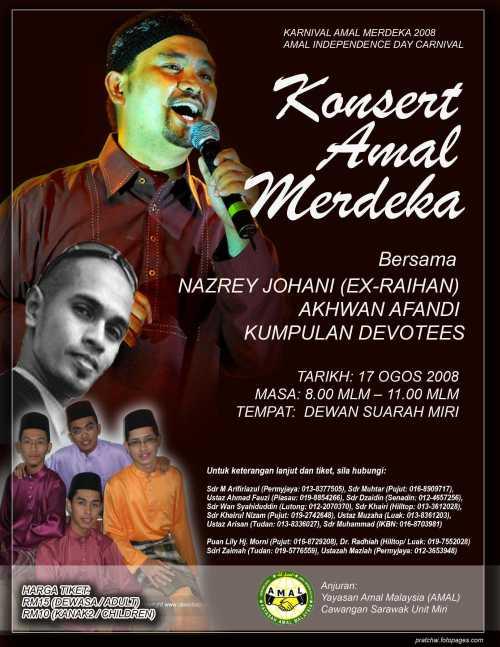 Konsert 'Amal Merdeka 2008