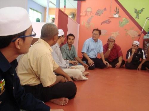 Mesyuarat bersama penggerak HIKMAH Sarikei di Nurseri Al-Hidayah ABIM