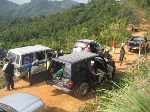 Perjalanan lebih 3 jam menuju Perkampungan Saudara Kita Rh Bandok, Ulu Kota yang benar-benar mencabar!