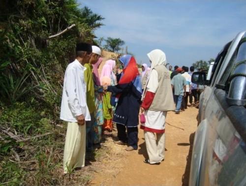 Alhamdulillah, selamat tiba di Perkampungan Saudara Kita dengan sambutan yang mengharukan dan mesra