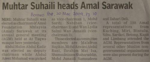 Muktamar Report @ Borneo Post