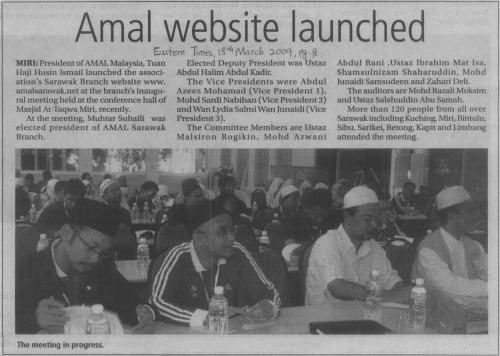Laporan Muktamar - Akhbar Eastern Times