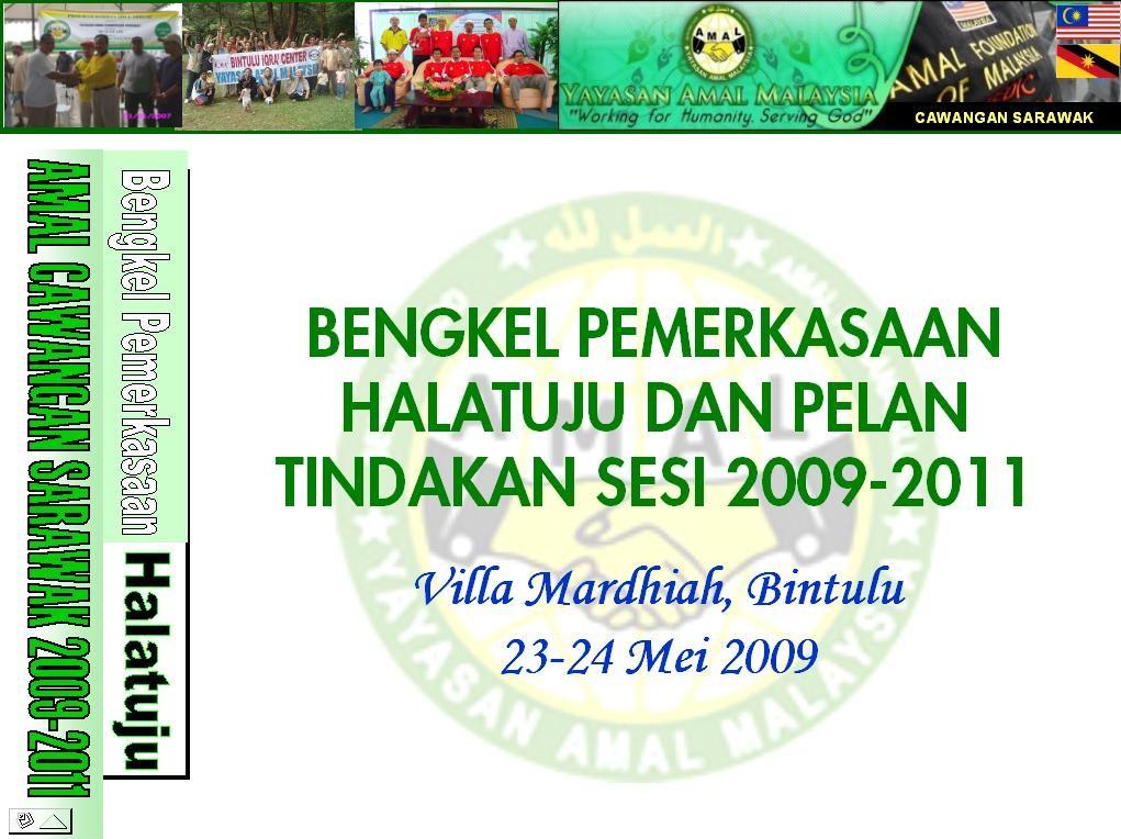 Backdrop Bengkel AMAL 2009