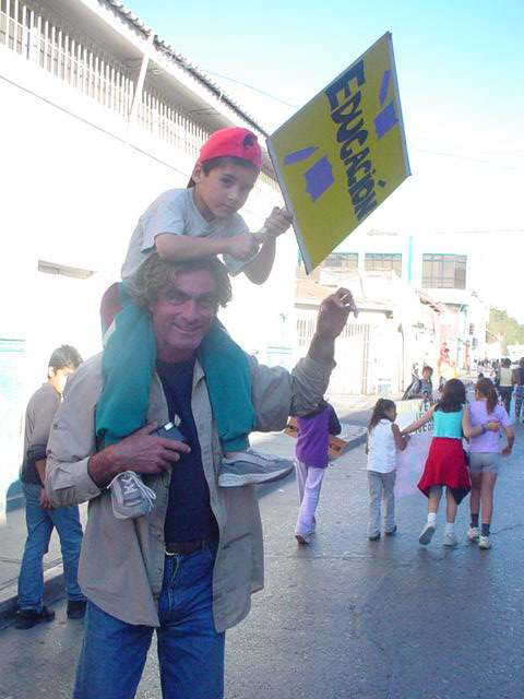 Jean ketika berada di Copiapó, Chile - 2003