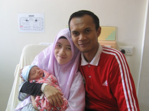 Kelahiran Muhammad 'Izzul Islam pada 14 September 2008
