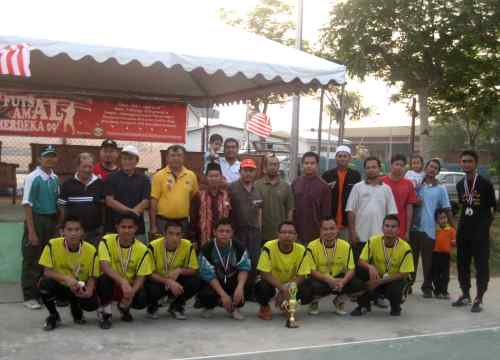VIP, Jawatankuasa Pelaksana bersama Pasukan Surau Al-Jawahir, Naib Juara
