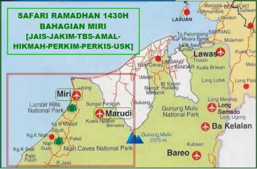 Program Safari Ramadhan 1430H Peringkat Bahagian Miri