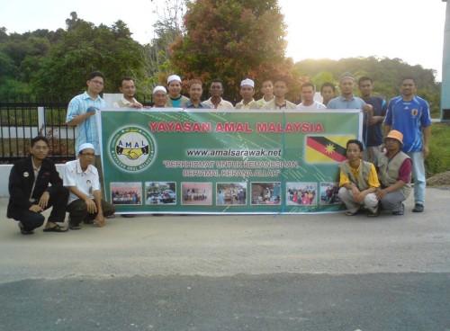 Ziarah Dakwah AMAL Sarawak Ke Kuala Segan, Bintulu