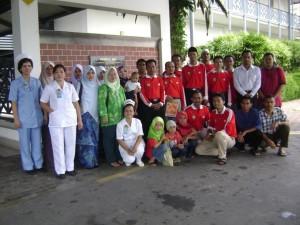 Gambar Kenangan Ziarah Hospital 10-11-2007