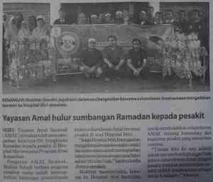 Laporan Akhbar Utusan Borneo 30 Ogos 2009