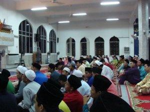 Sebahagian daripada Hadirin Muslimin
