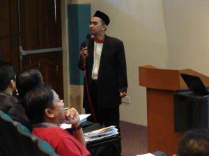 Pembentangan Tuan Haji Mohd Safri Mahat