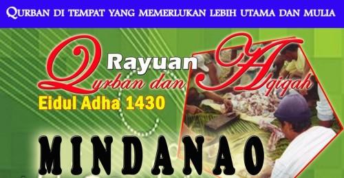 Qurban 1430H AMAL di Mindanao