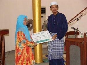Sumbangan Kepada Tabung Baitulmal Sarawak