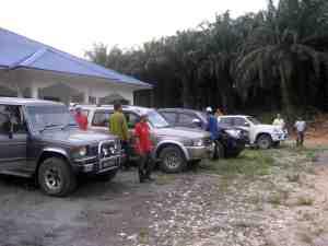 Selamat tiba dengan 4WD di Surau An-Nur