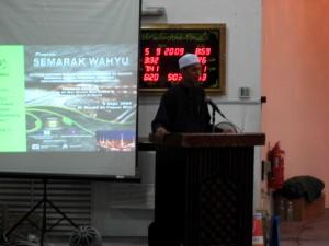 Ucapan Pengerusi AMAL Cawangan Sarawak