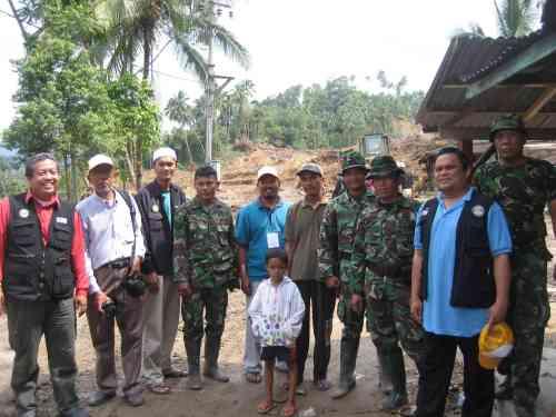 Bersama Bapak-bapak TNI