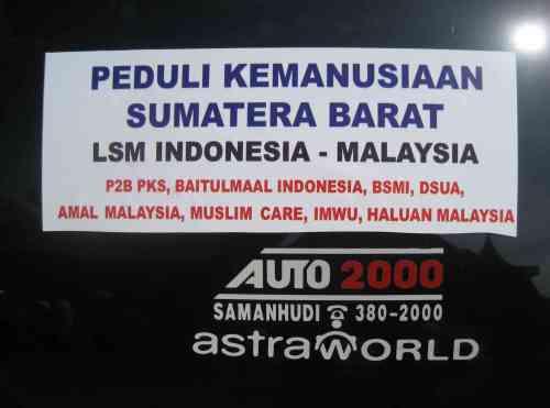 Peduli Kemanusian Sumatera Barat
